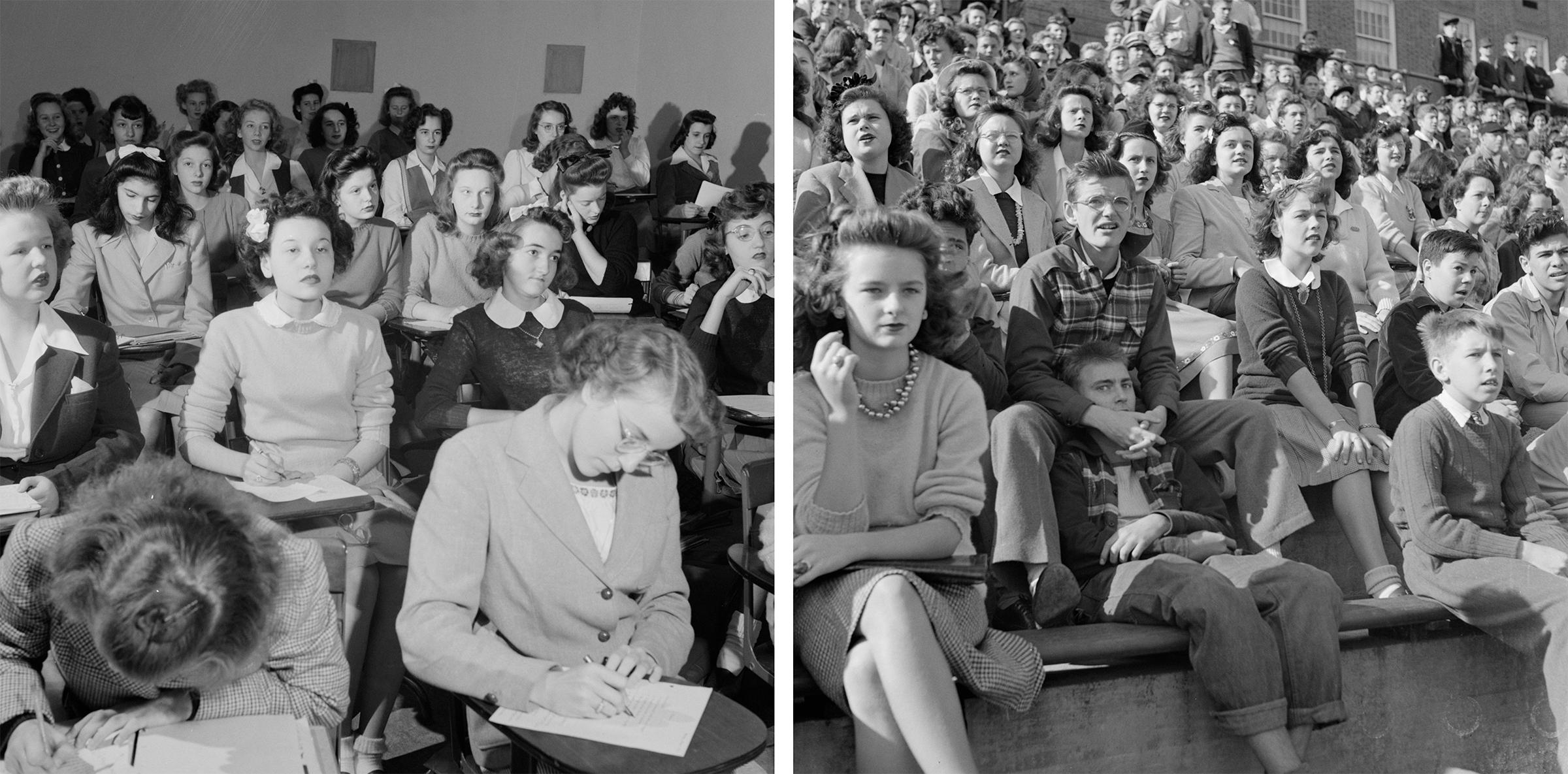 Wilson students in 1943