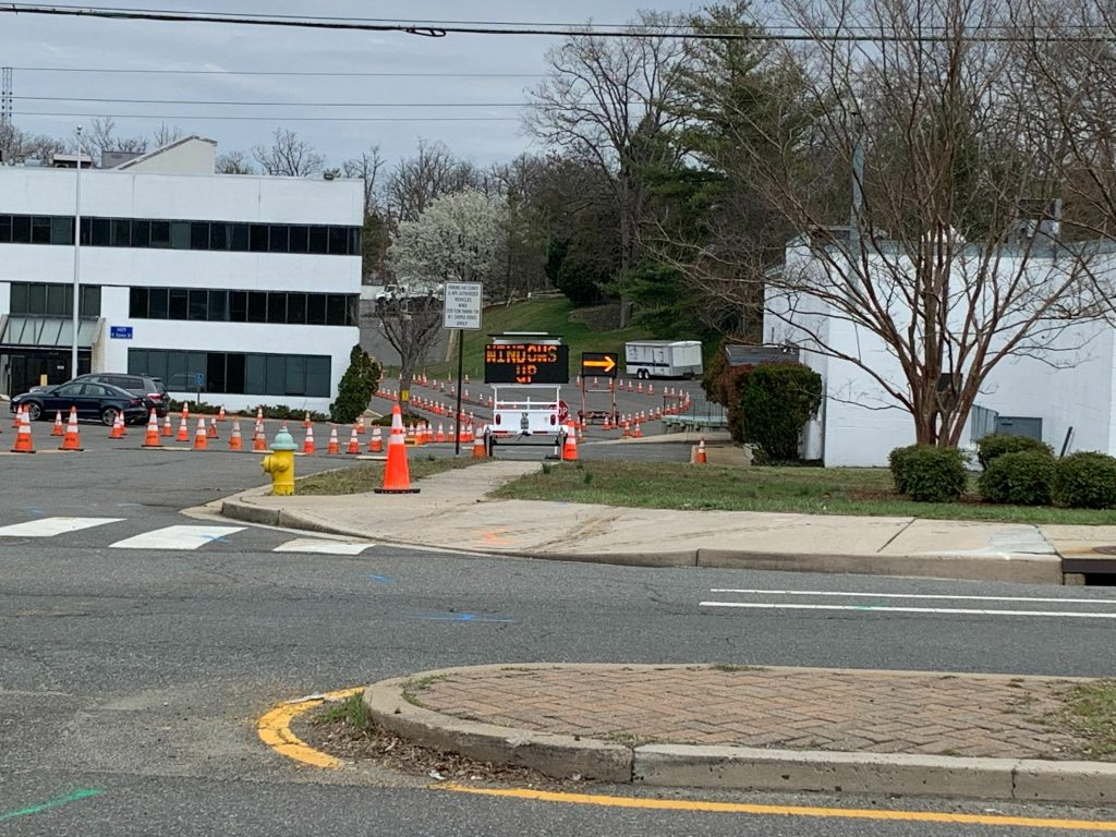 Arlington has partnered with Quest Diagnostics to operate the Drive-Through COVID-19 Collection site located at 1429 N. Quincy Street. Patients must have an existing order for COVID-19 testing from a licensed healthcare provider. (Courtesy of Liz Anderson)