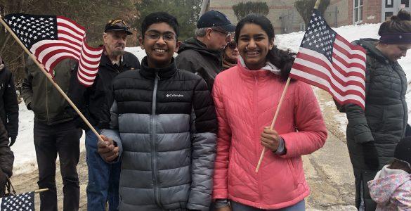 Flag kids